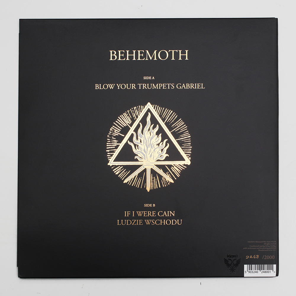 14. Behemoth - The Satanist